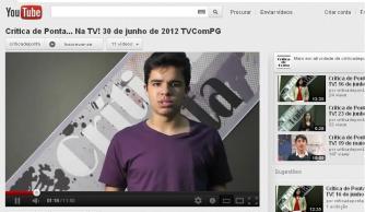 Confira o programa do Crítica de Ponta no canal do Youtube