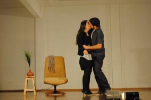 foto o beijo